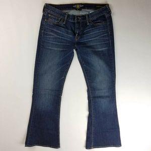 Lucky Brand Jeans Charlie Flare Dark Wash 10/30